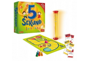 5 SEKUND JUNIOR Gra planszowa rodzinna dla dzieci