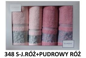 Zestaw 4 ręczników w ozdobnym pudełku Eurofirany