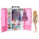 Szafa na ubranka + Lalka Barbie Fashionistas GBK12