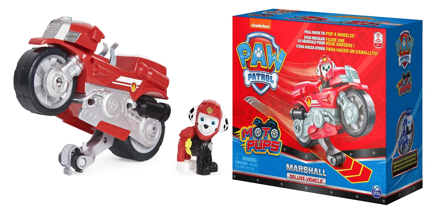PSI PATROL MARSHALL FIGURKA I MOTOCYKL MOTO PUPS