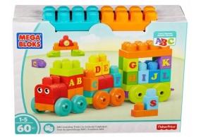 Mega Bloks Klocki Pociąg ABC