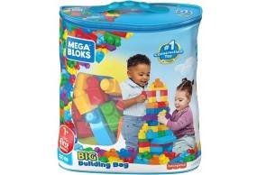 Mega Bloks Klocki 80 Klocków Torba Niebieska